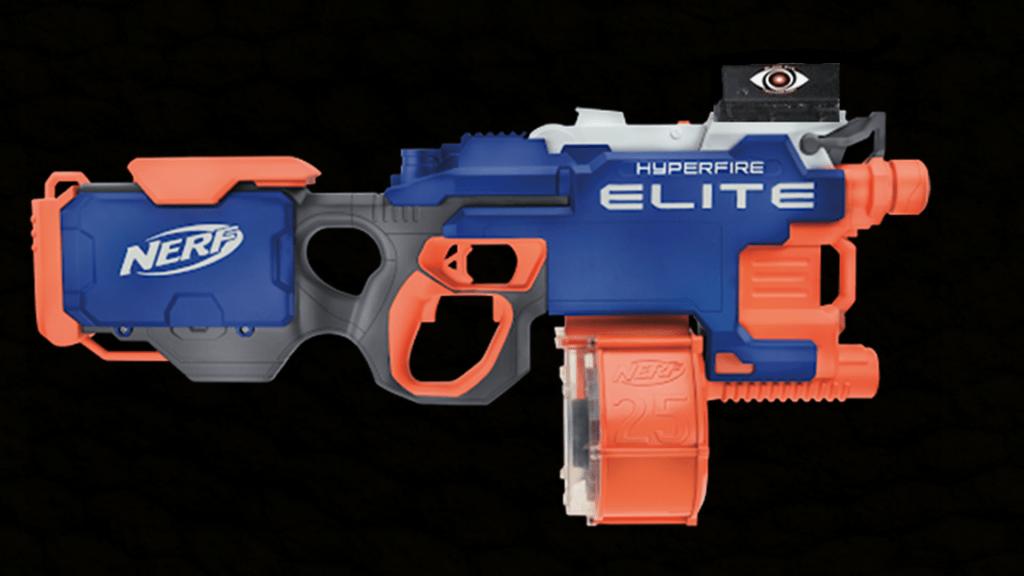 Nerf HyperFire Elite with Score Keeping Mod