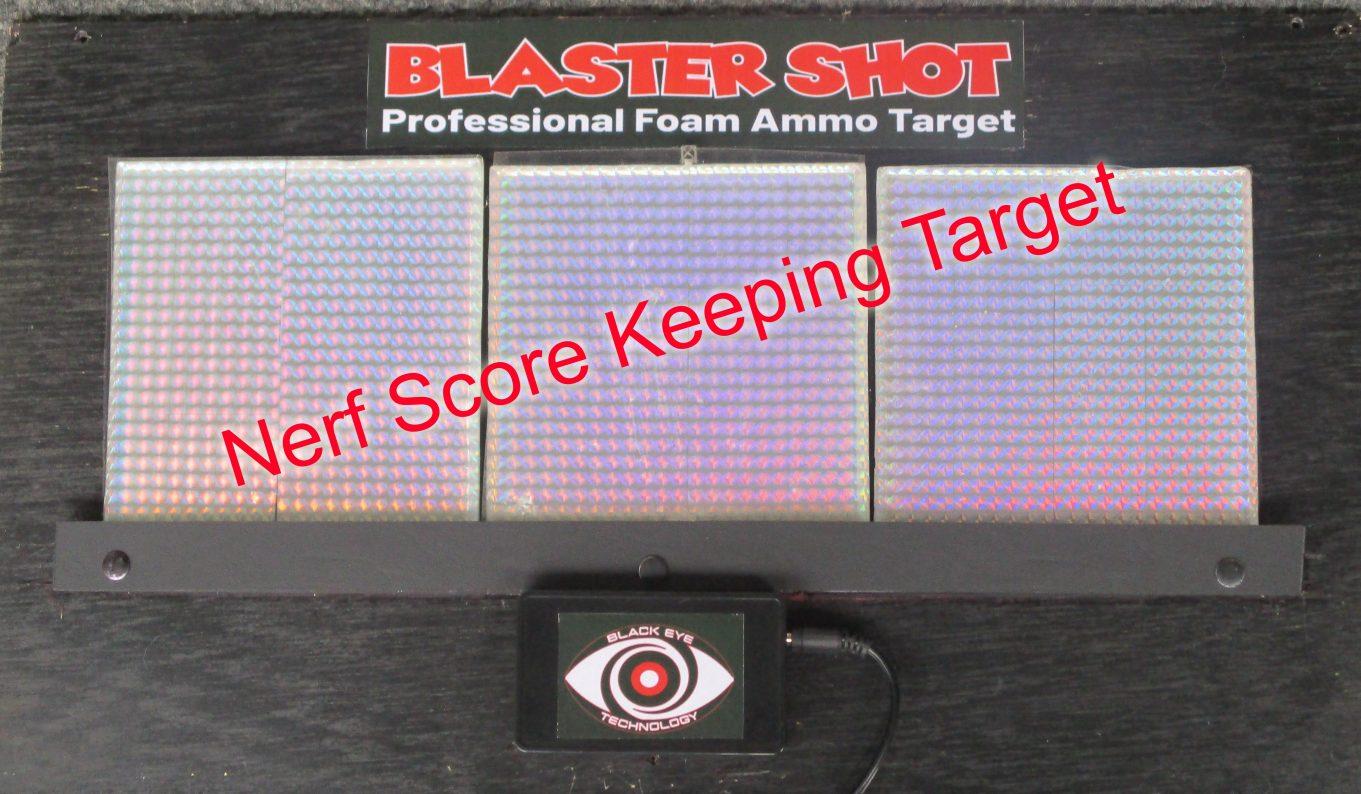 Nerf Score Keeping Target Game